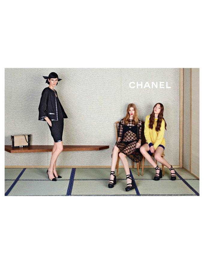Chanel сняли несовершеннолетних моделей для новой кампании. Изображение № 4.