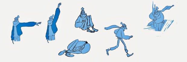 Анимация: бродяга спасает пса встимпанковском городе. Изображение № 12.