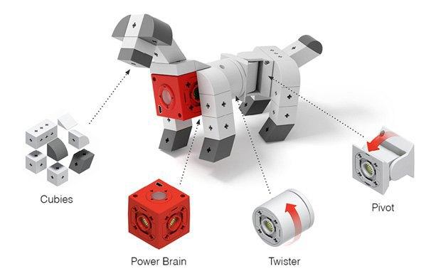 Своего робота можно будет построить из кубиков. Изображение № 5.