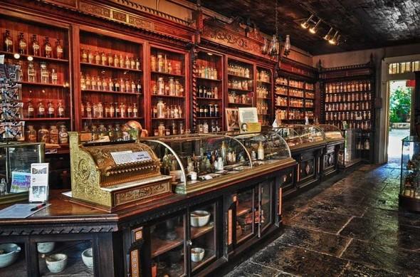 Аптека - музей в Новом Орлеане. Изображение № 19.