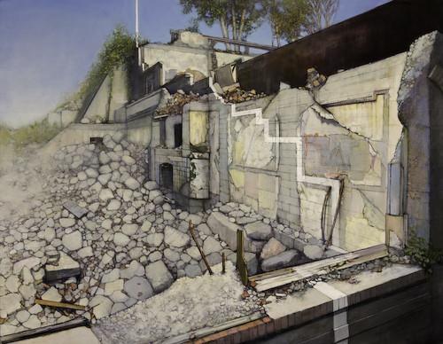 Кристофер Хофф. Рисует эти странные улицы. Изображение № 3.