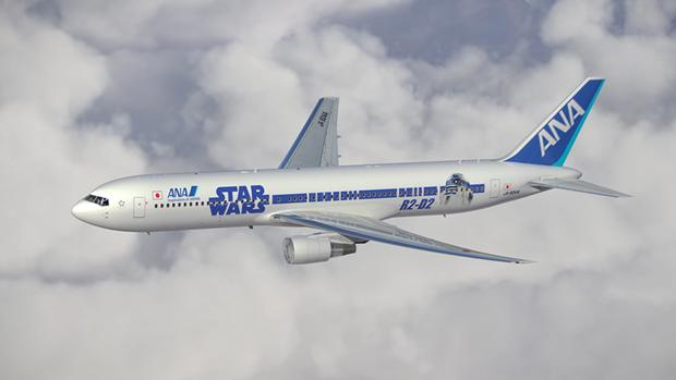 Авиакомпания показала перекраску самолёта под R2-D2. Изображение № 8.