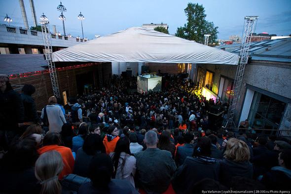 Концерт Apparatjik  на Стрелке Фото : zyalt. Изображение № 1.