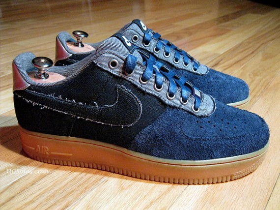 Nike Air Force 1 Bespoke Bone Rack by Jason Curtin. Изображение № 2.