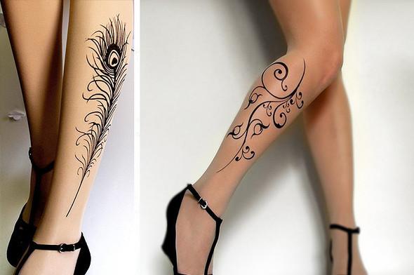 Носки, татуировки исексуальность. Изображение № 5.
