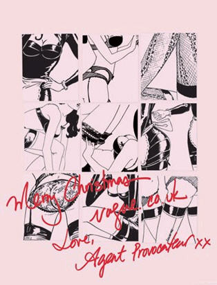 Новогодние fashion cards. Изображение № 13.