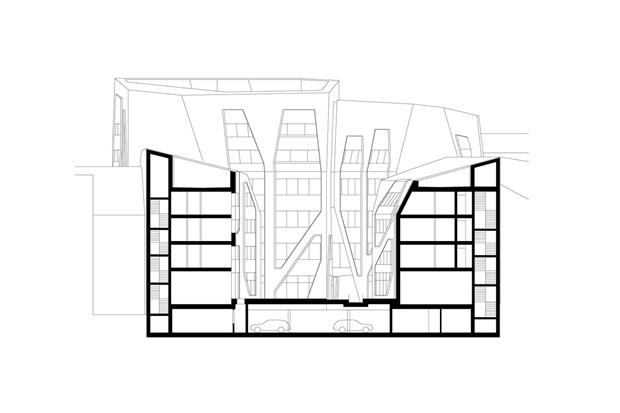 Архитектура дня: чёрно-белый квартал вцентре маленького города. Изображение № 11.