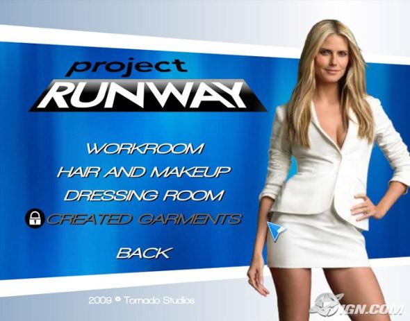Project Runaway: игра о моде для Wii. Изображение № 1.