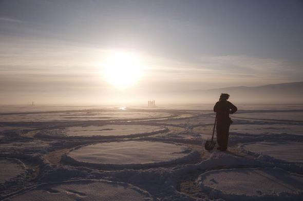 Изображение 62. Самый большой в мире Art-объект на Байкале.. Изображение № 41.