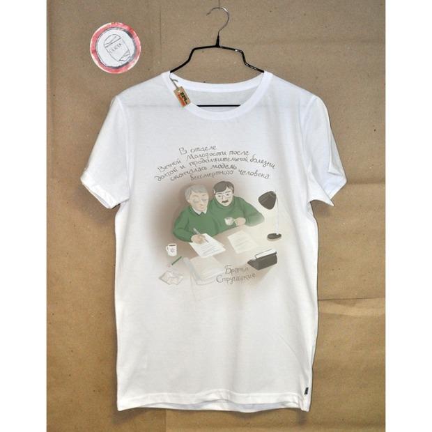 Новая коллекция футболок: литература на вашей груди. Изображение № 11.