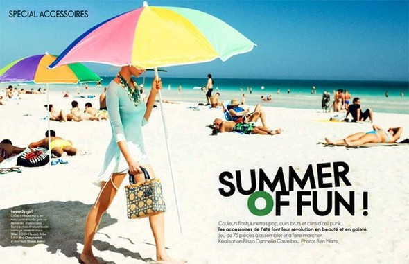 Life's a beach: Пляжные съемки. Изображение № 1.