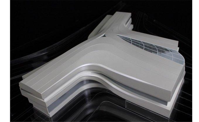 Архитектура дня: музей в Китае сбелым «слоёным» фасадом. Изображение № 26.