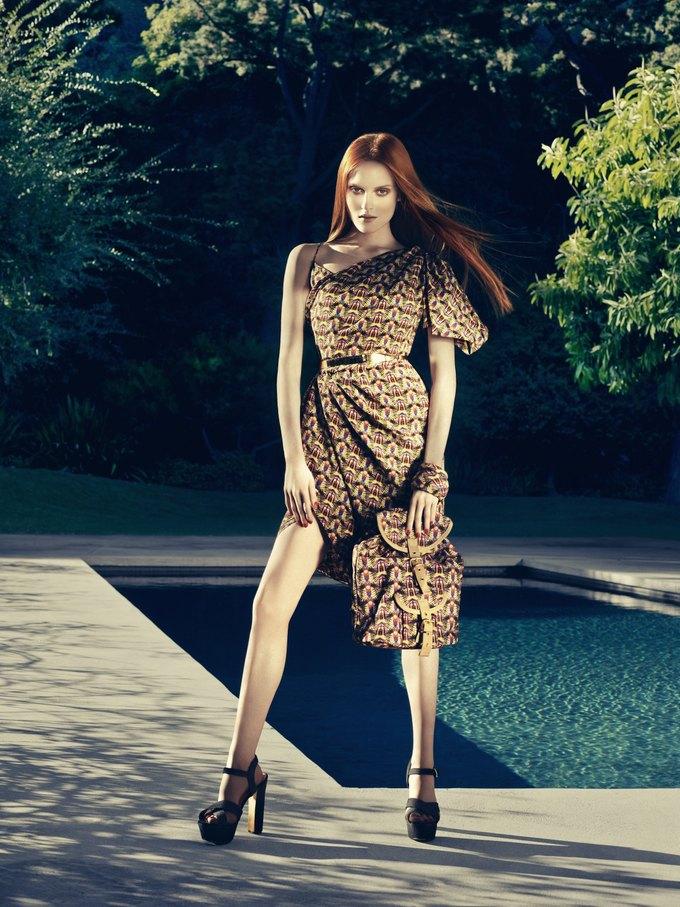 Alexander McQueen, Celine и LUBLU Kira Plastinina показали новые кампании. Изображение № 1.