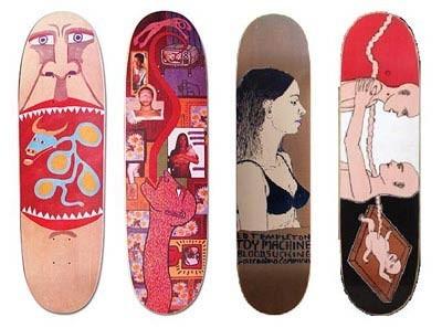 К доске: 10 художников-скейтбордистов. Изображение №19.