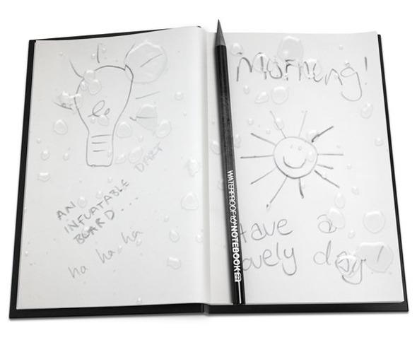 Водостойкий блокнот и карандаш. Изображение № 2.