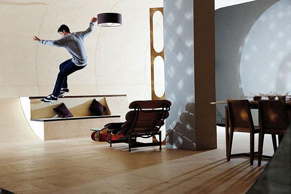 Первый скейтборд дом в мире. Изображение № 4.