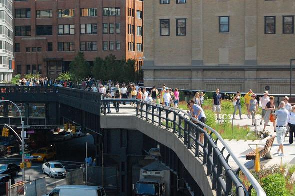 The High Line: история о том, как железная дорога обрела друзей. Изображение № 4.