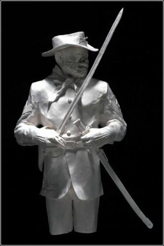Бумажные скульптуры. Изображение № 44.