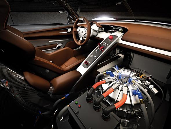 Немцы предъявили миру Porsche 918 RSR Hybrid. Изображение № 3.