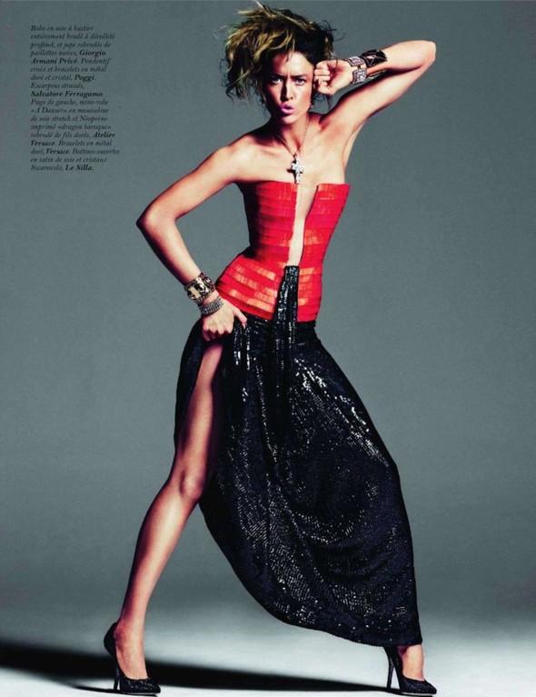 Съёмка: Ракель Зиммерманн для Vogue. Изображение № 3.
