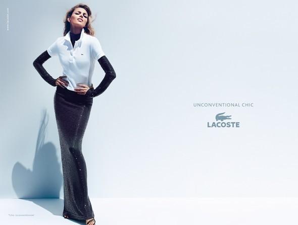 Изображение 2. Рекламные кампании: Lacoste, S by Max Mara, YSL и другие.. Изображение № 2.