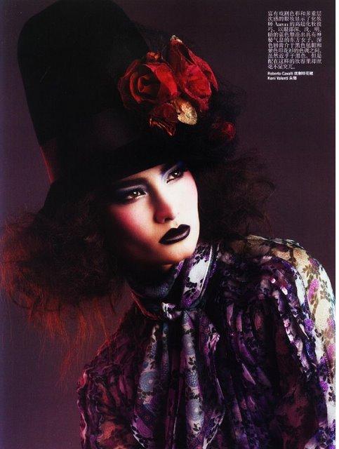 Цветы- этодействительно красиво( China Vogue, Ap2008). Изображение № 4.