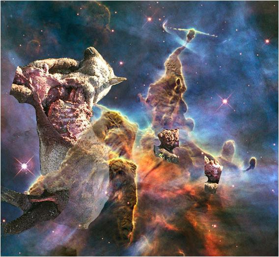 Белок на обочинах сверхновых. Изображение № 1.