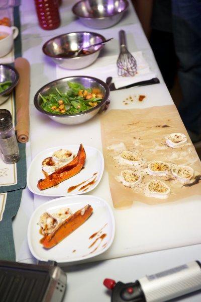 В ресторане Река прошел «оранжевый» кулинарный мастер-класс и ужин. Изображение № 3.
