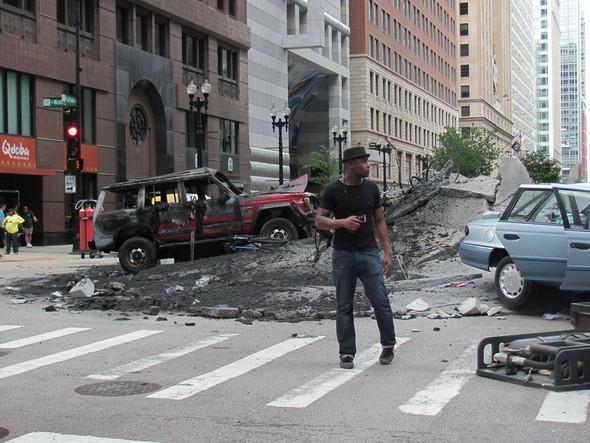 Съемки Трансформеров 3 в Чикаго. Изображение № 10.