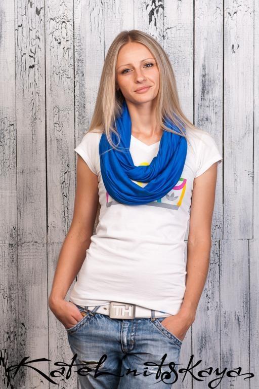 Осенняя коллекция ярких шарфов-снудов. Изображение № 2.