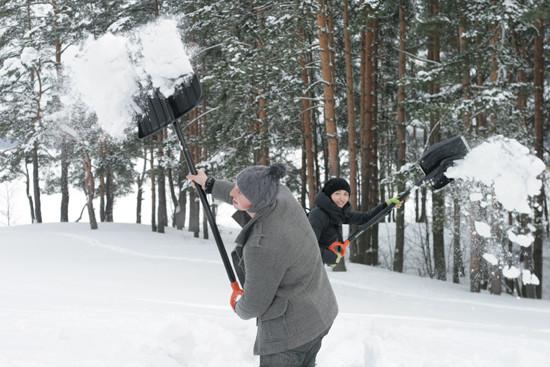 Снега было много, но мы с ним поборолись... Изображение № 13.