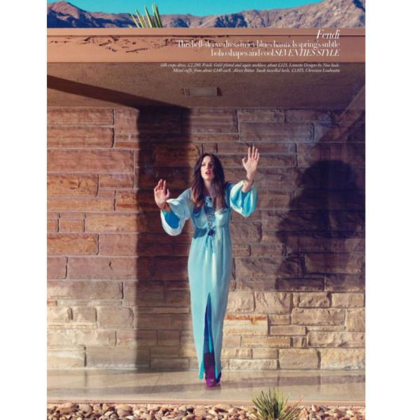 Изображение 7. Съемки: Harper's Bazaar, Metal, V и Vogue.. Изображение № 7.