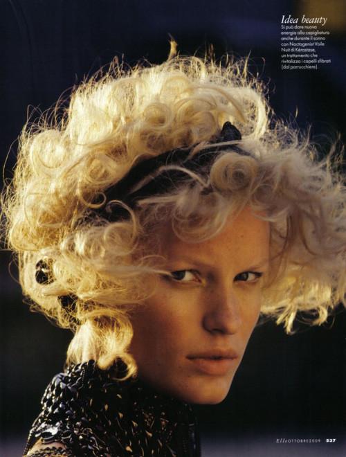 Каролин Винберг дляоктябрьского Elle Italia. Изображение № 13.
