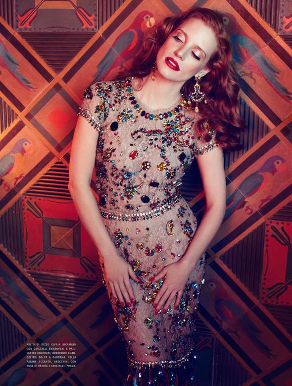 Съёмки: Harper's Bazaar, Interview, Vogue и другие. Изображение № 26.