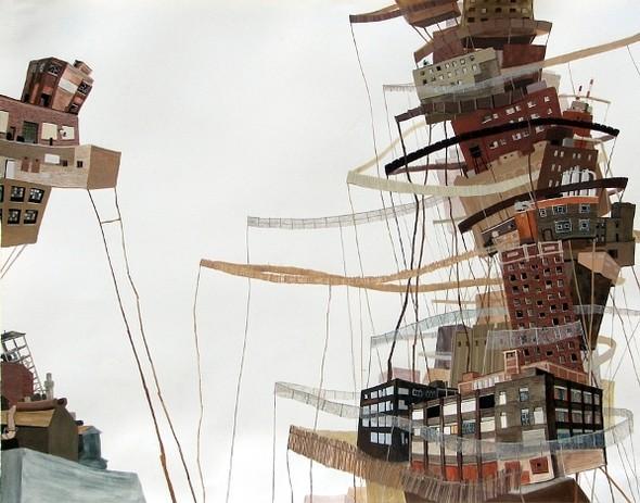Города сточки зрения иллюстратора ЭмиКэйси. Изображение № 21.