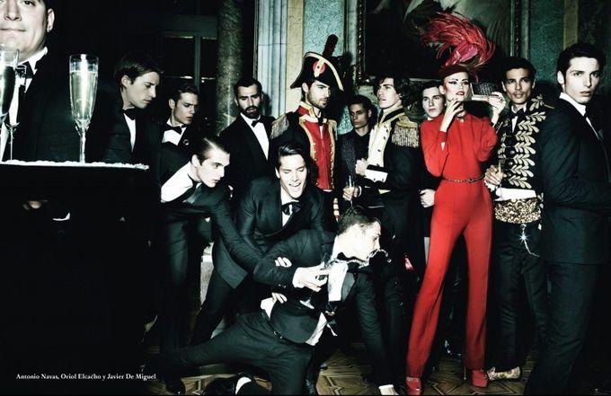 Вышли новые мужские съемки из Citizen K, Fashionisto, Vogue и других журналов. Изображение № 6.