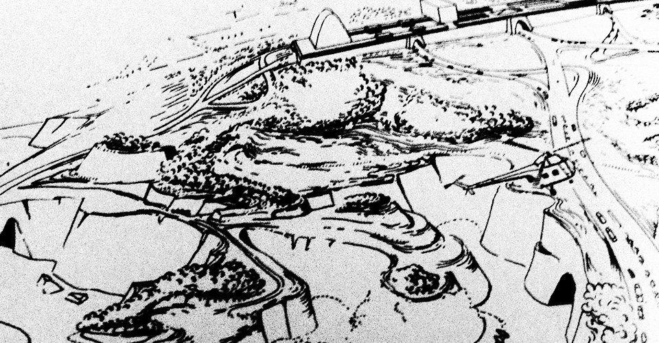 Как в XX веке представляли себе города будущего. Изображение № 3.