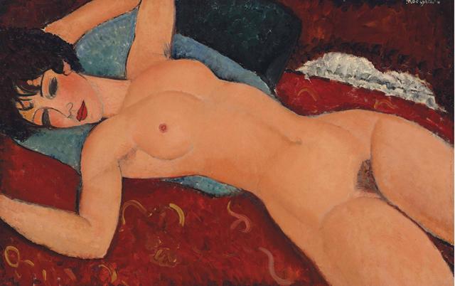 Картина Модильяни стала второй по цене проданной с аукциона. Изображение № 1.