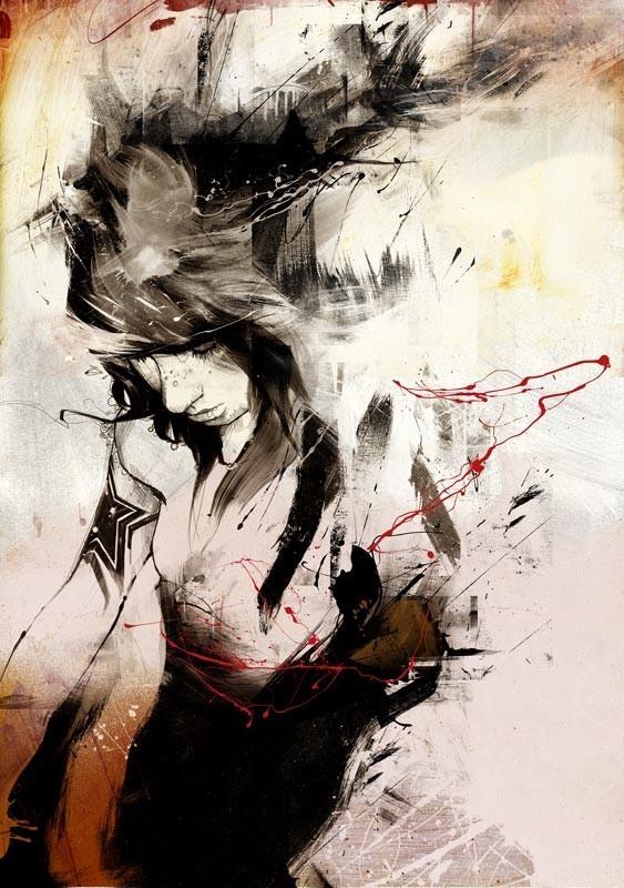 Russ Mills : графика, фотография и живопись. Изображение № 13.