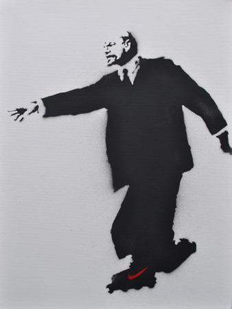"""Бэнкси """"Lenin on Rollerblades"""". Изображение № 4."""