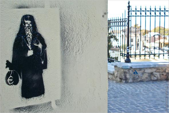 Стрит-арт и граффити Афин, Греция. Часть 2. Изображение № 32.