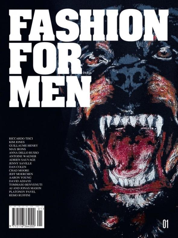 Обложка: Первый номер Fashion for Men. Изображение № 1.