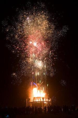 """Фестиваль """"Burning Man! """" вНеваде. Изображение № 34."""