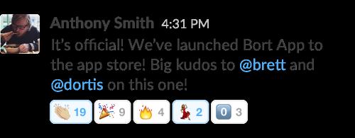 В Slack появились реакции с эмодзи . Изображение № 5.