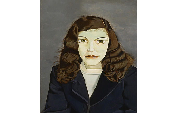 Lucian Freud, Girl in a Dark Jacket, 1947. Изображение № 17.