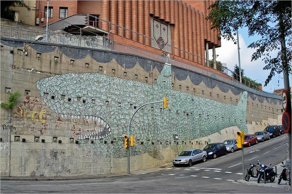 Стрит-арт и граффити Барселоны, Испания. Изображение № 1.