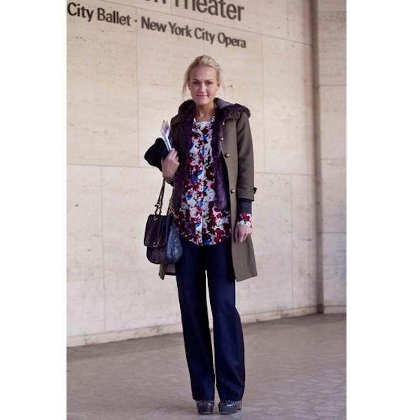 Изображение 143. На полях: 10 тенденций уличного стиля с прошедших недель моды.. Изображение № 143.