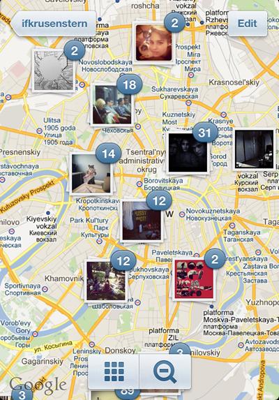 Фото на Instagram теперь можно привязывать к карте. Изображение №3.