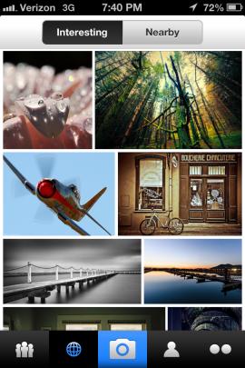 Вышло новое мобильное приложение Flickr. Изображение № 3.