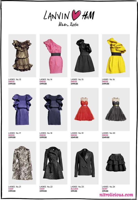 Lanvin for H&M. Цена вопроса. Изображение № 3.